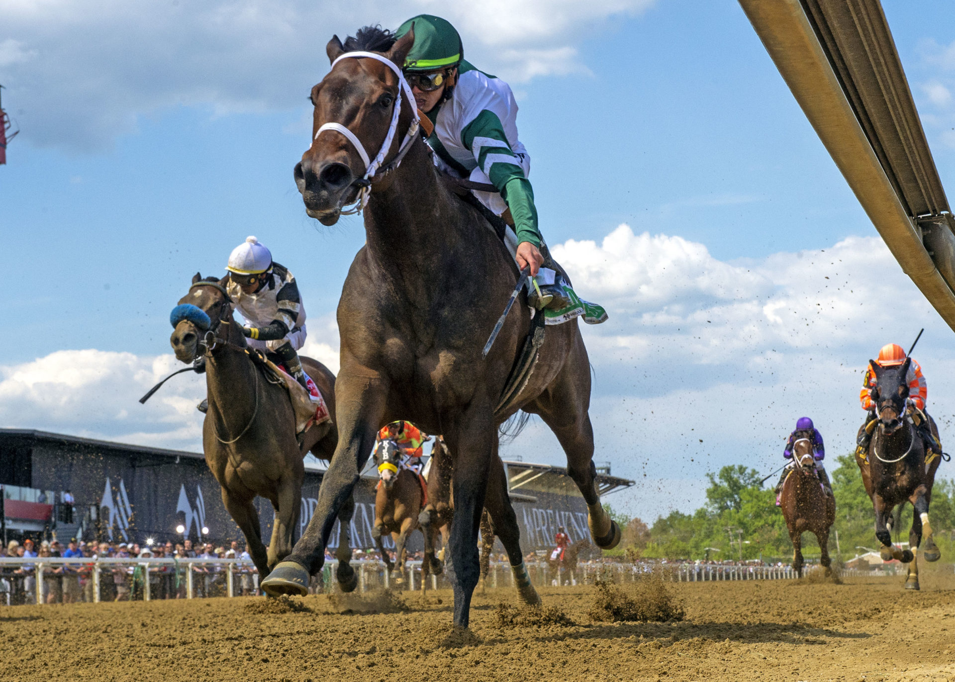 PA-bred Chub Wagon wins Skipat Stakes to remain undefeated in six starts